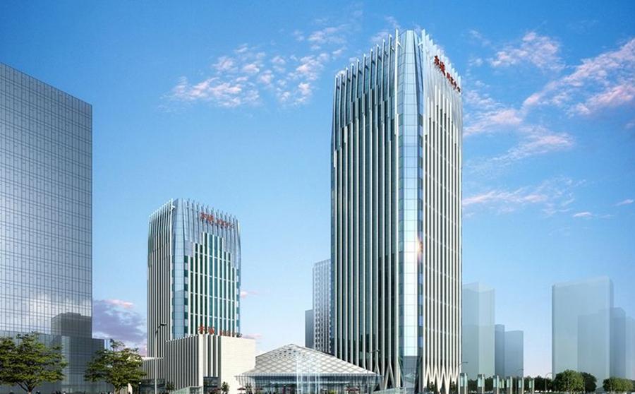 新疆财富中心大厦超声波bob游戏安卓官方版下载案例