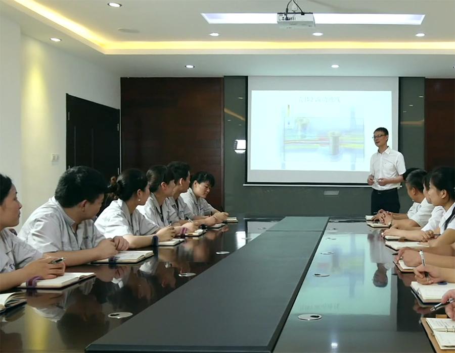 连云港腾越电子科技有限公司企业培训