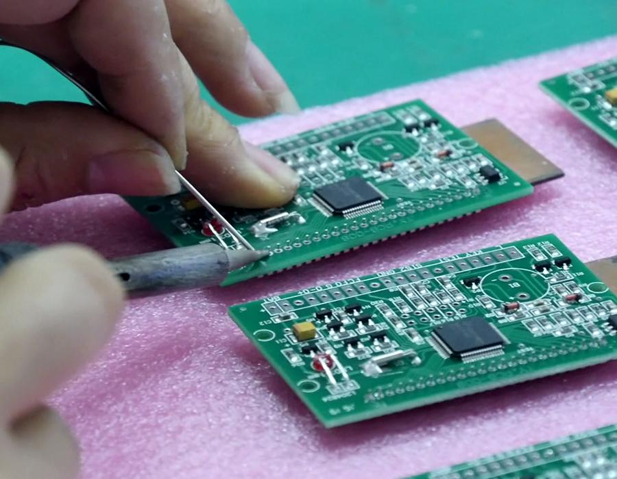 连云港腾越电子科技有限公司生产工艺